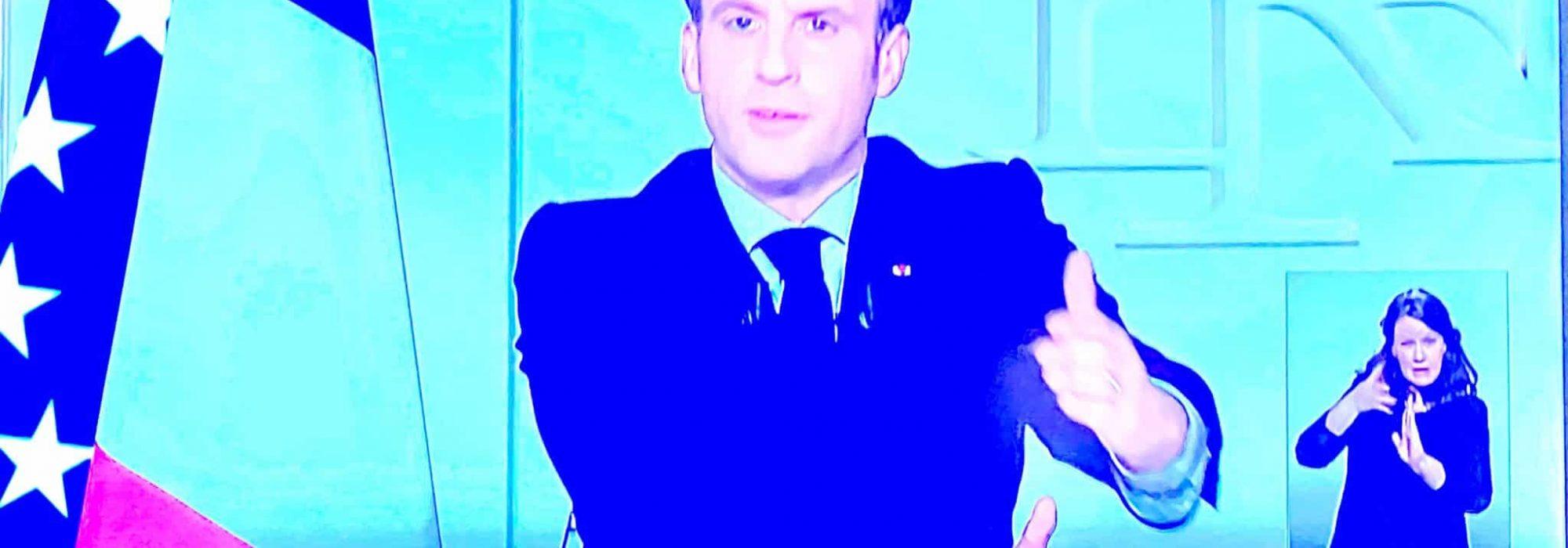 Macron 31 marca